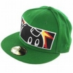 Бейсболка The Hundreds Stretch New Era Kelly Green 2009 г артикул 6195r.