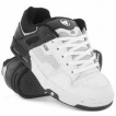 Обувь детская DVS Enduro Kids White/Black Leather Print Holiday 2009 г инфо 6643r.