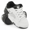 Обувь детская DVS Enduro Kids Tod White/Black Leather Print Holiday 2009 г инфо 6653r.